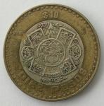 monedas del Mundo : America : México :  1998 - 10 pesos
