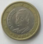 monedas del Mundo : Europa : España :  2003 - 1 Euro