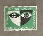 Sellos de Europa - Italia -  Festival de Spoleto