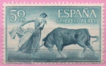 Sellos de Europa - España -  Quite de frente