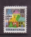 Sellos de America - Estados Unidos -  greetings