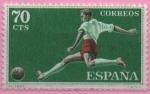 Sellos de Europa - España -  Deportes (Futbol)
