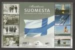 Sellos de Europa - Finlandia -  Niño esquiando 1991