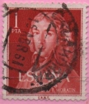 Stamps Spain -  II centenario dl nacimiento dl Leandro Fernandez d´Moratin