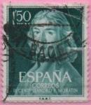 Sellos de Europa - España -  II centenario dl nacimiento dl Leandro Fernandez d´Moratin