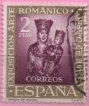 Stamps Spain -  VII Exposicion dl Concej d´Europa
