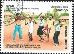 Sellos de Africa - Guinea Bissau -  Organización de Pioneros