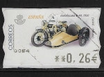 Sellos del Mundo : Europa : España : Motobecane B-44, 1930