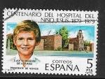 Sellos del Mundo : Europa : España : Centenario del Hospital del Niño Jesús