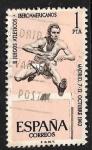 Sellos de Europa - España -  II Juegos Atléticos Iberoamericanos, Madrid 1962