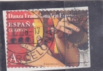Stamps : Europe : Spain :  DANZA TRADICIONAL EN ESPAÑA(39)