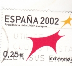 Stamps : Europe : Spain :  PRESIDENCIA DE LA UNIÓN EUROPEA (39)