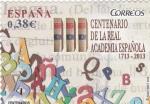 Stamps Spain -  CENTENARIO DE LA REAL ACADEMÍA(39)