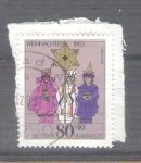 Stamps : Europe : Germany :  RESERVADO CHALS Navidad Y1028