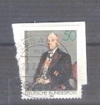 Sellos de Europa - Alemania -  Otto Warburg Y 1016