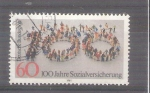 Stamps of the world : Germany :  Seguridad Social Y949