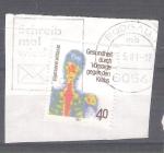 Sellos de Europa - Alemania -  Prevención del Cáncer Y921