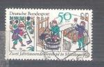 Sellos de Europa - Alemania -  RESERVADO Producción de vino Y909