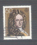 Sellos de Europa - Alemania -  Europa Gottfried W. Leibnizy Y894