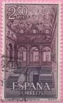 "Stamps of the world : Spain :  Real Monasterio d´SAn Lorenzo dl Escorial ""Escalera Principal"""