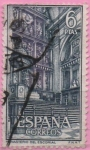 "Stamps of the world : Spain :  Real Monasterio d´SAn Lorenzo dl Escorial ""Altar Mayor"""