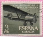 "Stamps of the world : Spain :  L aniversario d´l´Aviacion Española ""Jesus dl Gran Poder"""