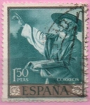 Stamps Spain -  San Jeronimo