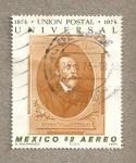 Stamps Mexico -  Heinrich von Stephan