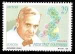 sellos de Europa - Andorra -  Europa - Alexander Fleming - Penicilina G