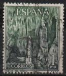 Stamps Spain -  Cuevas dl Drach
