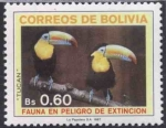 Stamps of the world : Bolivia :  Fauna en Peligro de Extincion