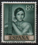 Stamps Spain -  Niña d´l´Guitarra