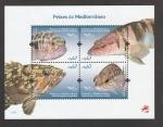 Sellos de Europa - Portugal -  Pez Serranus scriba