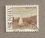 Stamps Poland -  Puente en Varsovia sobre el Vistula