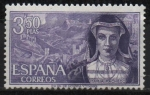 Stamps Spain -  Maria Pacheco