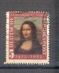 Sellos de Europa - Alemania -  Mona Lisa Y34