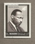 Stamps Asia - Bahrain -  Luther King