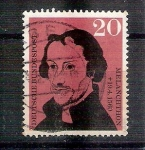 Stamps : Europe : Germany :  RESERVADO MIGUEL Philipp Melanchthon Y201