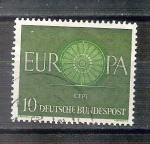 Stamps : Europe : Germany :  RESERVADO MANUEL BRIONES CEPT-Europa Y210