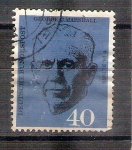 Sellos de Europa - Alemania -  George C. Marshall Y217