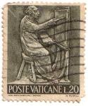 Sellos del Mundo : Europa : Vaticano : Poste Vaticane L.20 - 1966_4