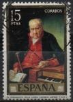 Stamps Spain -  El organista Felix Lopez