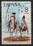 sellos de Europa - España -  Uniformes militares