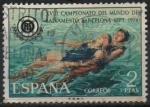 sellos de Europa - España -  XVIII Campeonatos dl Mundo d´Salvamento Acuatico