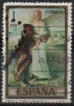 sellos de Europa - España -  Tobias y el Angel