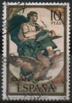 sellos de Europa - España -  El Evangelista San Juan