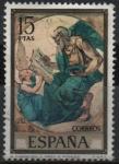 sellos de Europa - España -  El Evangelista San Mateo