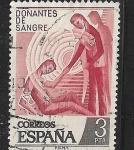 Sellos de Europa - España -  Donantes de sangre