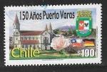 Sellos del Mundo : America : Chile : 150 años de Puerto Varas