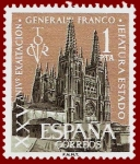 Stamps Spain -  Edifil 1373 XXV Aniversario Jefatura de Estado 1 NUEVO